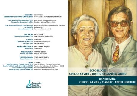 10/06 a 10/09 na FEB: Exposição Chico Xavier - Instituto Canuto Abreu