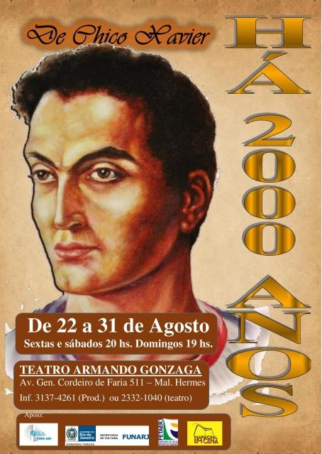 22 a 31/08 - Há 2000 anos (peça teatral)