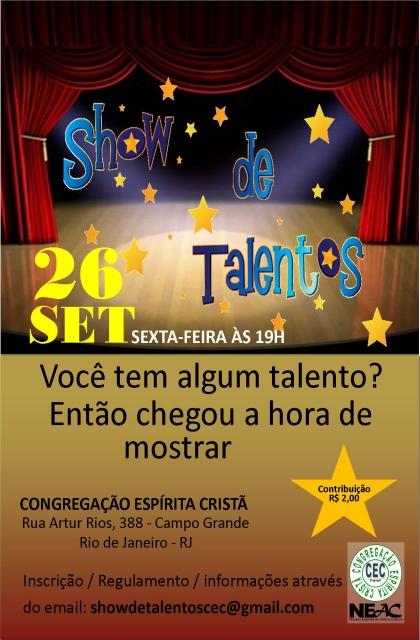 26/09 - Show de Talentos