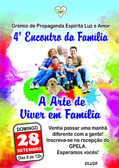 28/08 - 4º Encontro da Família