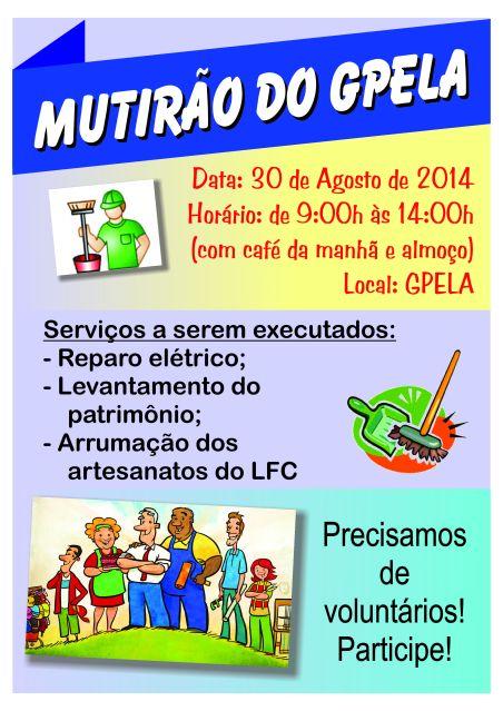 30/08 - Mutirão Gpela