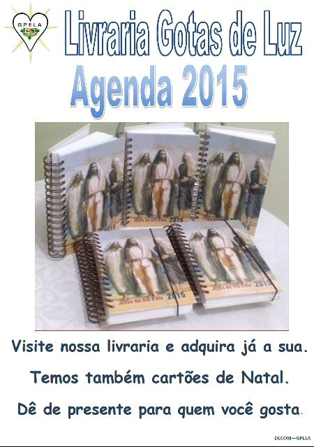 Adquira a nossa Agenda de 2015
