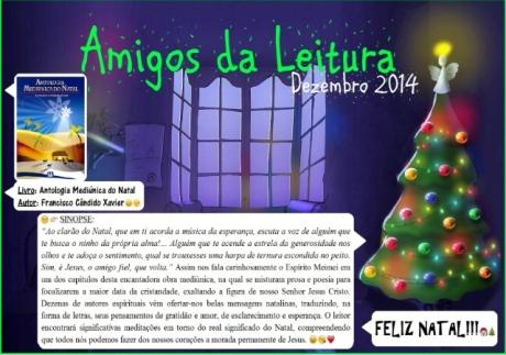 Dezembro/14 - Amigos da Leitura