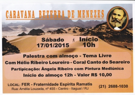 17/01/15 - Caravana Bezerra de Menezes