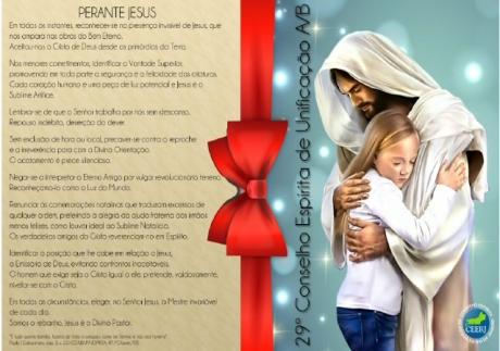Mensagem de Natal CEERJ