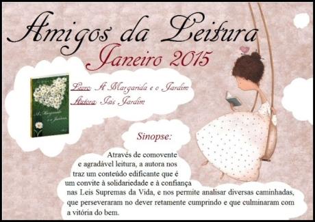 Janeiro/15 - Amigos da Leitura