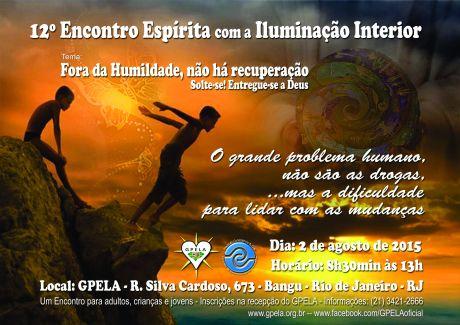 02/08 - 12º Encontro Espírita com a Iluminação Interior