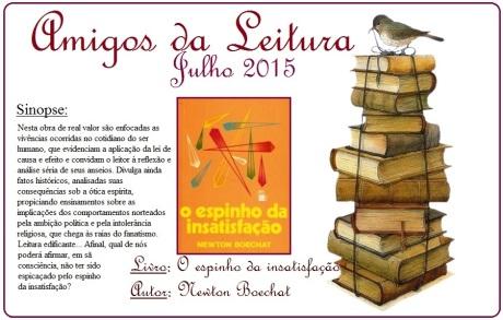 Julho/15 - Amigos da Leitura