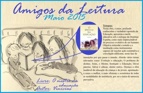 Maio/15 - Amigos da Leitura