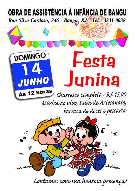 14/06 - Festa Junina