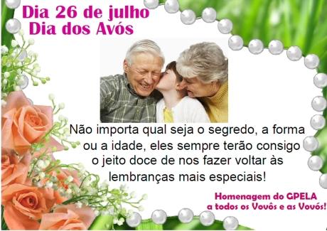 26/07 - Dia dos Avós